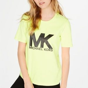 New Michael Kors logo T-Shirt Size L
